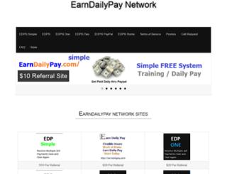 earndailypay.com screenshot