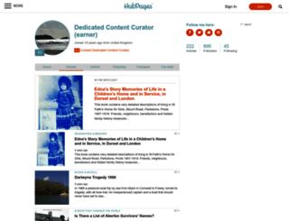 earner.hubpages.com screenshot