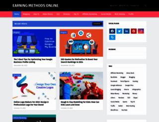 earningmethodsonline.com screenshot