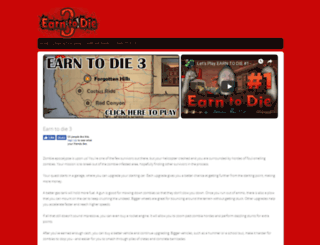 earnto-die3.com screenshot
