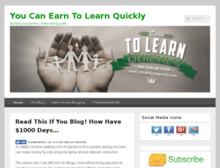 earntolearnquickly.com screenshot