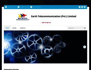 earth.net.bd screenshot