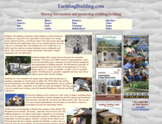 earthbagbuilding.com screenshot