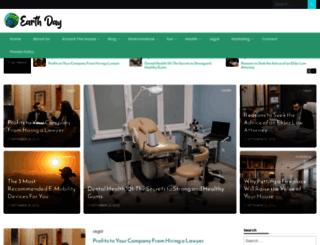 earthday2015.ca screenshot