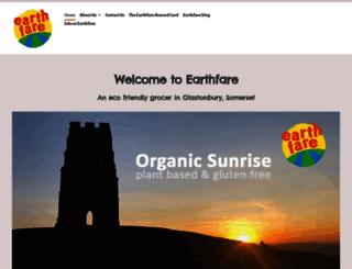 earthfare.co.uk screenshot