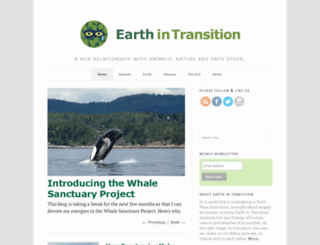earthintransition.org screenshot