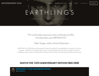 earthlings.com screenshot