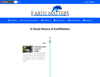 earthmatters.org screenshot