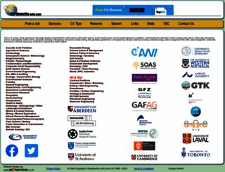 earthworks-jobs.com screenshot