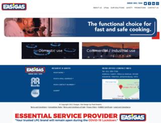 easigas.com screenshot