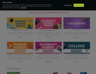 easonschoolbooks.com screenshot
