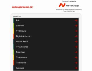 eastanglianaerials.biz screenshot