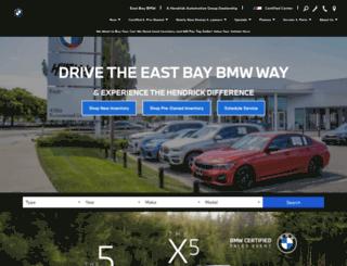 eastbaybmw.com screenshot