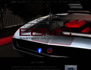 eastbaymusclecars.com screenshot