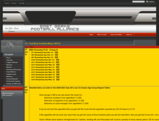 eastberksfa.com screenshot