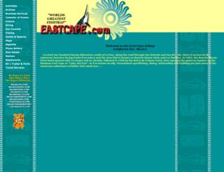 eastcape.com screenshot
