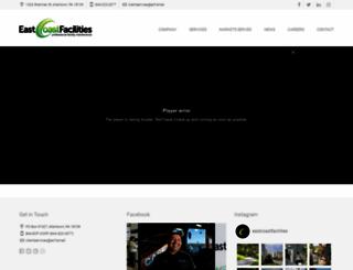 eastcoastfacilities.com screenshot