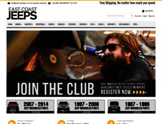 eastcoastjeeps.com screenshot