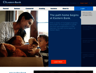 easternbank.com screenshot