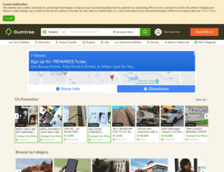 easterncape.gumtree.co.za screenshot