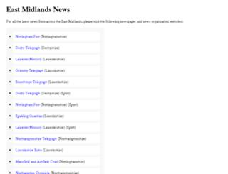 eastmidlandsnews.org.uk screenshot