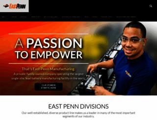 eastpennmanufacturing.com screenshot