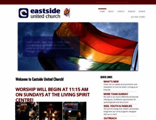 eastsideunited.ca screenshot