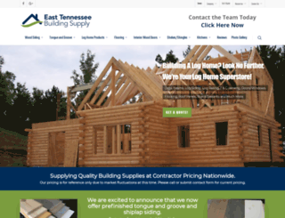 easttennesseebuildingsupply.com screenshot