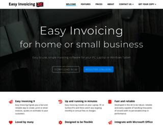 easy-invoicing.co.uk screenshot