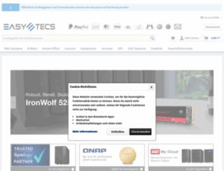 easy-tecs.de screenshot