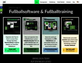 easy2coach.net screenshot