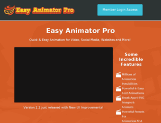 easyanimatorpro.com screenshot