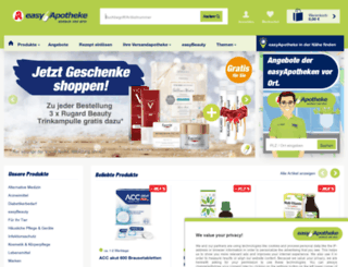 easyapotheke.de screenshot