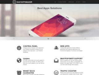 easyappsmaker.com screenshot
