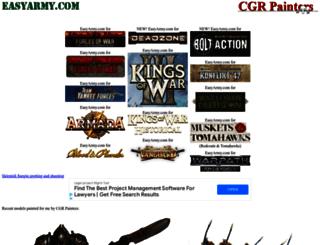easyarmy.com screenshot