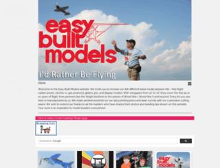 easybuiltmodels.com screenshot