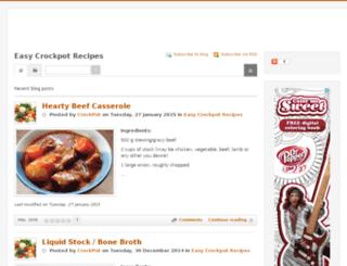 easycrockpot.recipes screenshot