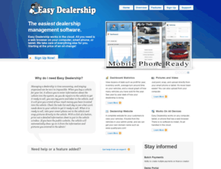 easydealership.com screenshot