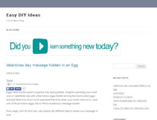 easydiyideas.com screenshot