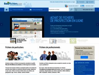 easyfichiers.com screenshot