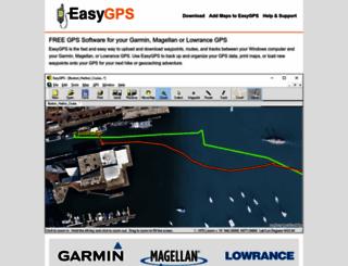 easygps.com screenshot