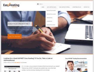 easyhostingasp.net screenshot