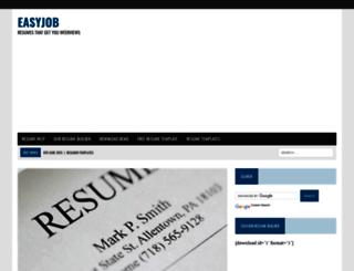 easyjob.net screenshot