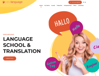 easylanguage.it screenshot