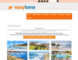 easyloma.fi screenshot