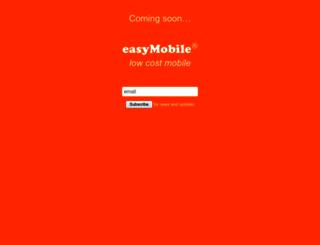 easymobile.com screenshot