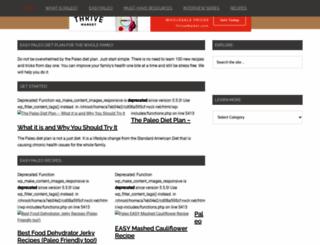 easypaleo.com screenshot