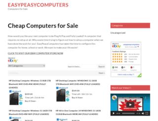 easypeasycomputers.com screenshot