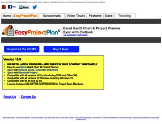 easyprojectplan.com screenshot