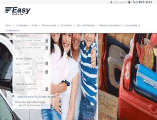 easyrentacar.online.com.ni screenshot